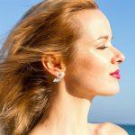TARDOO 925 Sterling <b>silver</b> <b>earrings</b> for women Wing Stud <b>earrings</b> Charm Femme Jewelry for Girls Cute & Sweet Style Fine homme