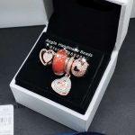 4pcs Rose Gold <b>Jewelry</b> Set Love Heart CZ Dangle Charms Beads Fit DIY Bracelet Necklaces <b>Jewelry</b> <b>Making</b> Woman Gift