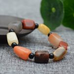 Natural Colorful Golden Silk Jades Stone Bracelets Original Stone Seed <b>Makings</b> Stone Hand Strings Women and man's Jades <b>Jewelry</b>
