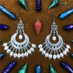 <b>Jewelry</b> of Gypsy Women In The Middle East Carved Ancient Silver Big Earrings Retro tribal <b>Handmade</b> <b>Jewelry</b> BOHO Turkey Thailand