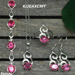 KJJEAXCMY Fine jewelry, Female color jewelry 925 <b>silver</b> inlay natural Topaz powder set simple wholesale