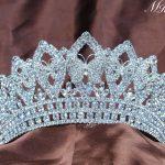 Butterfly <b>Wedding</b> Bridal Tiaras Pageant Handmade Crowns Rhinestones Crystal Prom Party Silver Headbands Luxury Hair <b>Jewelry</b>