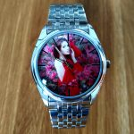A3305w Personalized Wristwatch women clock photo print watch <b>silver</b> Stainless Steel Case Luxury Customized Watches logo design
