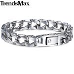 Trendsmax <b>Fashion</b> New Stainless Steel Charm Bracelet Men Vintage Totem Mens Bracelets 2018 Cool Male Wristband <b>Jewelry</b> HB30