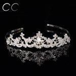 Luxurious Queen Rhinestone Crystal Crown Tiara For Women Bridal Wedding Hair <b>Jewelry</b> Wedding Hair Bijoux Gift Accessories F017