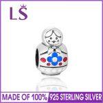 LS Solid 925 Sterling Silver Russia Matryoshka Doll Charm Beads Fit Bracelets & Bangles DIY For <b>Jewelry</b> <b>Making</b> Alibaba Wholesale