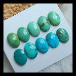 Natural stone oval turquoise cabochon sets,14*10*5mm,14*10*3mm,11.0g,semiprecious stone <b>fashion</b> cabochon <b>jewelry</b> sets