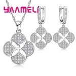 YAAMELI 925 Sterling Silver Necklace Earrings Set Chinese National Classic Retro Style Coins Modeling For Women Dance Party