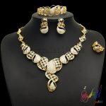 Yulaili Fashion Gold Plating Wholesale <b>Jewelry</b> Delicate <b>Jewelry</b> Set