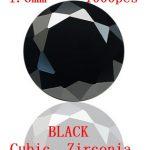 <b>Jewelry</b> <b>Supplies</b> AAA Grade CZ Cubic Zirconia BLACK Round Zircon 1.6/1.75/1.8/1.9MM DIY <b>Jewelry</b> Findings <b>Supplies</b> Free Shipping