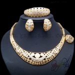 Yulaili Graceful Semi-precious Stones <b>Jewelry</b> Set