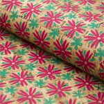 Cork fabric 68*50cm with flower cork leather Portuguese natural Material for handmade <b>supply</b> Kork corcho Cof-73