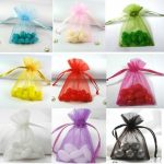 5000 Pieces 7x9cm Premium Organza Wedding Favour Gift Bags <b>Jewellery</b> Bridal Candy Pouches Party <b>Decoration</b> Fast Free Shipping
