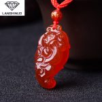 The wholesale <b>supply</b> of male and female counter genuine natural red pendant <b>jewelry</b> flourishes brave lucky draw