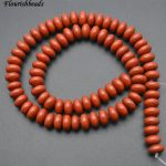 Wholesale 5x8mm Natural Red Jasper Stone Rondelle Spacer Loose Beads Fashion <b>Jewelry</b> making <b>supplies</b> 5 strands per lot