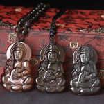 genuine natural ice color Obsidian male and female Aquarius all color pendant <b>jewelry</b> wholesale <b>supply</b> of Guanyin Made in China