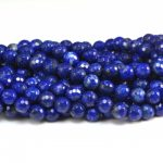 2017 New Arrival Top Fashion Natural Lapis Faceted Round Color 4-10mm Bead Craft <b>Supply</b> Loose Wholesale <b>Jewelry</b> Bead–15inch