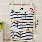 Creative 8 Pockets Door Wall Hanging Clothing <b>Jewelry</b> Closet Storage Bags Container Organizer Home <b>Supplies</b>
