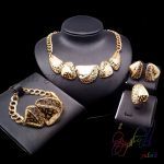 Yulaili Italian Golden Stainless Steel <b>Jewelry</b> Sets Gorgeous Series with Office Feelings for Women