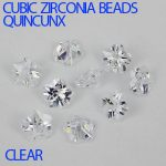 Shiny Crystal Clear Color Cubic Zirconia Beads Quincux Machine Cut Zirconia Stones Perfect For <b>Jewelry</b> Making DIY Craft <b>Supplies</b>