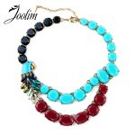 JOOLIM <b>Jewelry</b> Wholesale/ Parrot Necklace Statement Choker Necklace Collar Necklace Factory <b>supply</b> free shipping