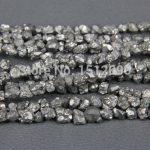 5-8mm Silver Titanium Quartz Drilled Chips Beads,Raw Crystals Rough Quartz Rubble Loose Beads Nuggets <b>Jewelry</b> <b>Supplies</b>