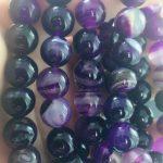 6pcs Natural Stone Beads <b>Jewelry</b> Making Round Frost Purple Crystal Diy Necklace Bracelets <b>Jewelry</b> Making <b>Supplies</b> Accessories