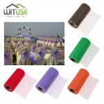 Colorful 25 Yards Tissue Tulle Roll Wedding Decor Sheer Spool Manual Craft Tutu Skirt Table Runner Party <b>Supplies</b> Gauze