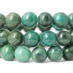 6/8/10mm Natural African Verdite Jad stone beads material for bracelets Loose Beads <b>jewelry</b> making <b>supplies</b> necklace beads