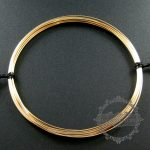 20gauge 0.81mm half hard gold filled high quality color not tarnished beading <b>jewelry</b> wire <b>supplies</b> findings 1505002