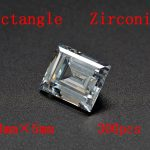 MRHUANG Shine! <b>Jewelry</b> <b>Supplies</b> AAA Brilliant Cuts 3*5mm Retangle Shape Clear Color Cubic Zirconia Stone Beads For <b>Jewelry</b> Diy