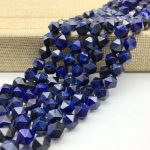 High Quality Blue Color Tiger Eye Stone Beads Faceted Cut Cube Bicone Spacer 5 8 10 mm DIY <b>Jewelry</b> Making <b>Supplies</b>