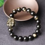 gold double gold Buddha Bracelet Yaoshi laugh in the face of male and female lucky evil <b>jewelry</b> wholesale <b>supply</b>