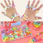 1 set kids diy <b>jewelry</b> making <b>supplies</b> mix style box for baby kids childrens jewellery