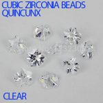 Glitter Cubic Zirconia Beads Beauty Quincunx Cut Zirconia Stones <b>Supplies</b> For <b>Jewelry</b> 3D Nail Art Decoration Crystal Clear Color
