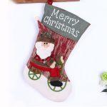 Christmas stocking Santa Claus sock gift bag children's Christmas decoration candy bag display Christmas tree <b>jewelry</b> <b>supplies</b>