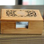 Vintage Hollow Out Wooden Business Card Storage Box <b>Jewelry</b> Makeup Organization Desktop Decoration Home Office <b>Supplies</b> ZA3193