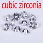 25pcs 12mm Wholesale <b>Jewelry</b> <b>Supplies</b> AAA Grade CZ Cubic Zirconia Round Zircon DIY <b>Jewelry</b> Findings <b>Supplies</b> Free Shipping