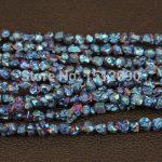 5-8mm Blue Titanium Quartz Drilled Chips Beads,Raw Crystals Rough Quartz Rubble Loose Beads Nuggets <b>Jewelry</b> <b>Supplies</b>