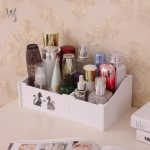 Desktop Shelf Bathroom Cosmetics Dressing Table <b>Supplies</b> Storage Shelf