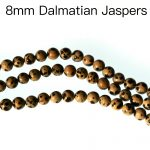 Free Shipping 8mm Round Natural Dalmatian Jaspers Beads Strand <b>Jewelry</b> Making <b>Supply</b>