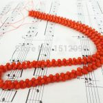 Natural Bamboo Coral Bone Shape Beads Strands.Orange Coral Loose Beads <b>Jewelry</b> <b>Supplies</b> 5x8mm,various size for choice