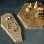Wood Vintage Snack Cupcake Tray Plates Wedding Birthday Cake Stands Home Decoration Ring <b>Jewelry</b> Display Baking Cake <b>Supplies</b>