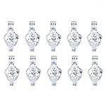 L206 Bright Silver Creative Heart Design Beads Cage Locket Pendant Essential Oil Trendy <b>Jewelry</b> Making <b>Supplies</b>