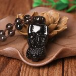 A counter natural ice Rainbow Obsidian big brave men and women shall <b>supply</b> wholesale <b>jewelry</b> pendant