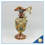 handmade enamel vase shape <b>jewelry</b> box making <b>supplies</b> wholesales SCJ593 free shipping