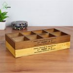 YI HONG <b>Jewelry</b> Case Wooden Storage Box Wooden Organizer Wood Boxes Antique Retro Jewellery Candy Storage Container Cases <b>Supply</b>
