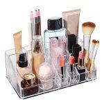 <b>Jewelry</b> Storage Box Lipstick Makeup Dresser Holder Container Home Organizer Accessories <b>Supplies</b> Gear Stuff Product