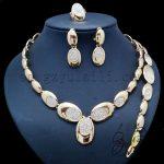 Yulaili Magnificence Semi-precious Stones <b>Jewelry</b> Set