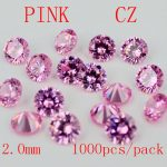 <b>Jewelry</b> <b>Supplies</b> AAA Grade CZ Cubic Zirconia PINK Round Zircon 2.0/2.25/2.5MM DIY <b>Jewelry</b> Findings <b>Supplies</b> Free Shipping